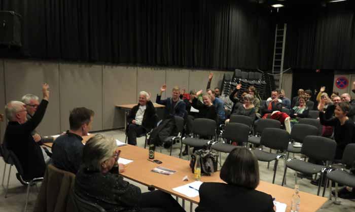 Kolonihistorisk Centers generalforsamling 2015. Foto: Alex Frank Larsen.